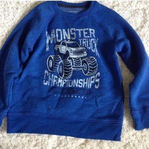 Other - Monster truck sweatshirt
